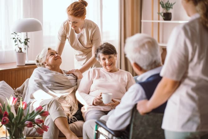 Selection Process: Touring an Assisted Living Community
